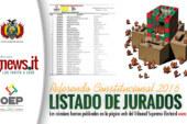 COMUNICADO URGENTE: BOLIVIANOS EN ITALIA REFERENDO 2016
