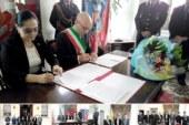 ACUERDO ENTRE EL CONSULADO GENERAL DEL ECUADOR EN MILÁN Y COMUNE DI TREZZANO