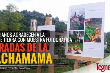 """""""Miradas de la Pachamama"""", bolivianos agradecen a la Madre Tierra con muestra fotográfica"""