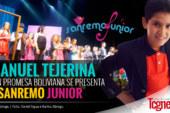 Emanuel Tejerina, joven promesa boliviana, se presenta en Sanremo Junior