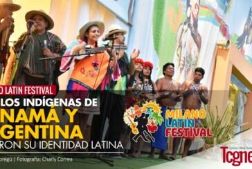 Pueblos indígenas de Panamá y Argentina trajeron la identidad latina al Milano Latin Festival