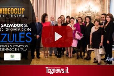 El Salvador se vistió de gala con AzulES, primer show room presentado en Italia
