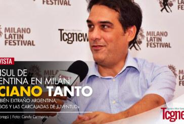 """Entrevista al Cónsul de Argentina en Milán, Luciano Tanto: """"Yo también extraño Argentina, los amigos y las carcajadas de juventud"""""""
