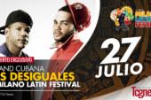 LA BAND CUBANA 'LOS DESIGUALES', SUBE AL ESCENARIO DEL Milano Latin Festival