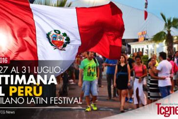 INIZIA LA SETTIMANA DEL PERU' al Milano Latin Festival