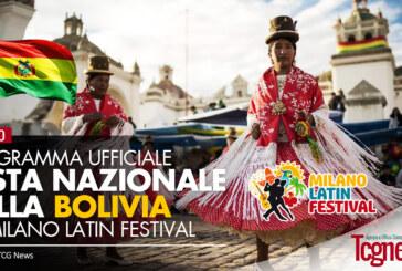 Programma Ufficiale: Festa Nazionale della Bolivia a Milano