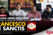 LA CUCINA LIBERA PERUVIANA APPRODA A MILANO CON IL TOP CHEF FRANCESCO DE SANCTIS