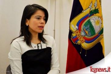"""Viceministra Cuesta: """"Ecuador, junto a los migrantes de ida y retorno"""""""