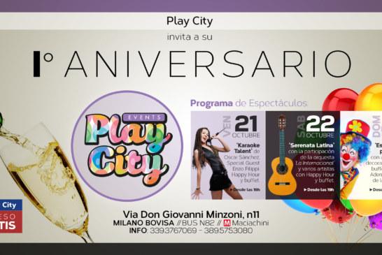 Primer Aniversario de Play City. Tres días de pura diversión