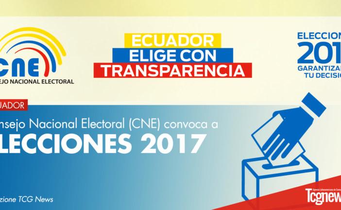 Consejo Nacional Electoral de Ecuador convoca a Elecciones 2017