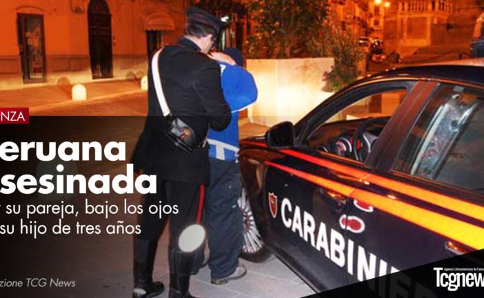 Monza: Peruana de 29 años asesinada por su pareja