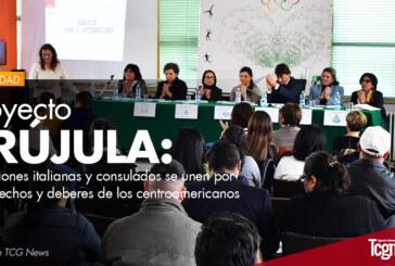 Proyecto Brújula: Instituciones italianas y consulados se unen por los derechos y deberes de los centroamericanos