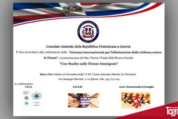 Genova: Giornata internazionale per l'eliminazione della violenza contro le Donne