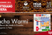 Pacha Warmi, l'eccellenza del Made in Ecuador, all'Artigiano in fiera