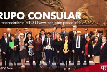 Grupo Consular otorga reconocimiento a TCG News por labor periodística