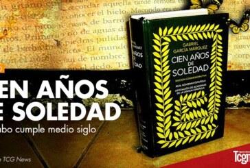 """""""Cien años de soledad"""" de Gabo cumple medio siglo"""