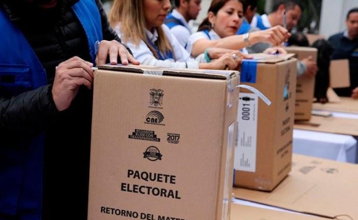 Habrá segunda vuelta electoral en Ecuador el próximo 2 de abril