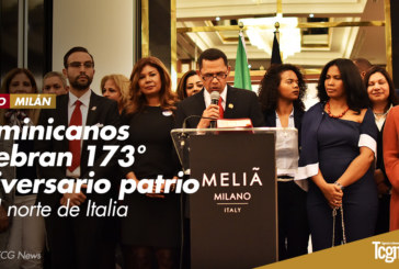 Dominicanos celebran 173° aniversario patrio en el Norte de Italia