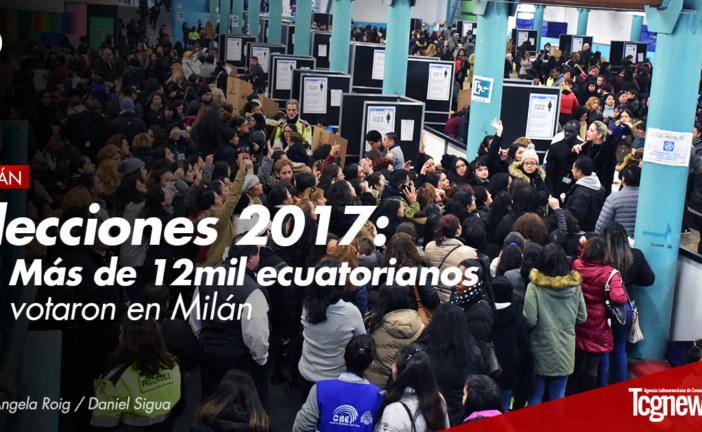 Elecciones 2017: Más de 12mil ecuatorianos votaron en Milán