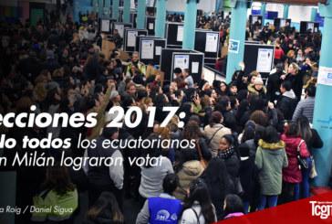 Elecciones 2017, no todos los ecuatorianos en Milán lograron votar