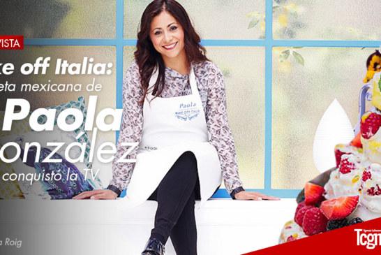 Bake off Italia: la receta mexicana de Paola González que conquistó la TV