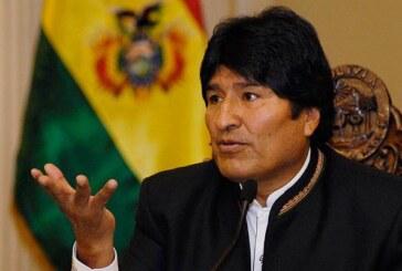 """Evo Morales dice que Bolivia busca """"justicia"""" frente a """"intolerancia"""" chilena"""