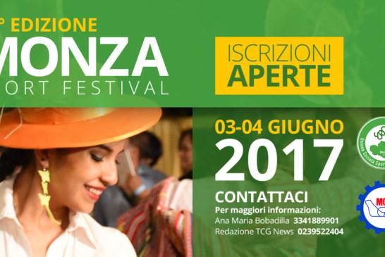 Partecipa alla 42° Edizione del Monza Sport Festival