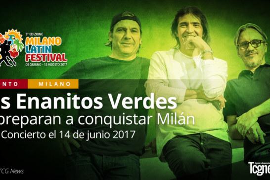 Los Enanitos Verdes se preparan a conquistar Milán
