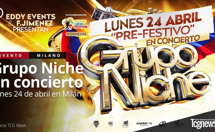 Dalla Colombia la salsa del Grupo Niche arriva a Milano