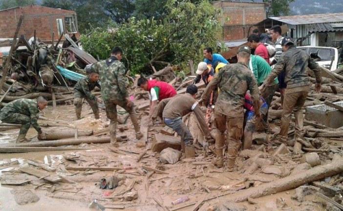Ascienden a 234 muertos y 220 heridos en la avalancha de Mocoa (Colombia)