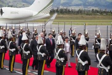 Mandatarios y delegaciones extranjeras arribaron a Ecuador a la Transmisión del Mando Presidencial