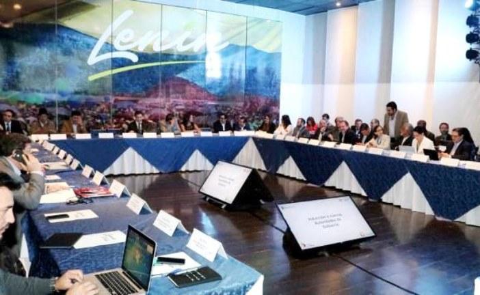 Presidente electo, Lenín Moreno presentó el nuevo gabinete ministerial