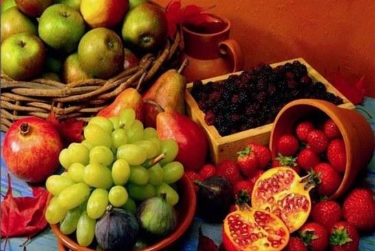 Cambio de dieta, menos carne y más frutas