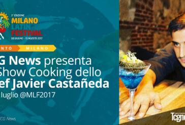 TCG News Presenta lo Showcooking dello Chef Javier Castañeda