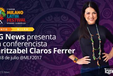 TCG NEWS PRESENTA A LA CONFERENCISTA MARITZABEL CLAROS FERRER EN EL MLF2017