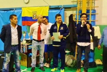 Tercer Campeonato Internacional de Ecuavolley en Italia