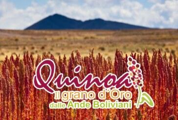 Invito CONVEGNO QUINOA REALE il grano d'oro dalle Ande Boliviani