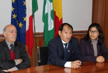 La Ciudad de Bérgamo invita a Bolivia a considerarla su sede operativa en la Expo Milán 2015