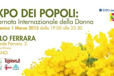 EXPO DEI POPOLI: Giornata Internazionale della Donna