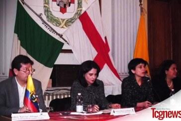 Viceministra de Movilidad Humana María Landazuri Encuentra la Comunidad Ecuatoriana a Génova