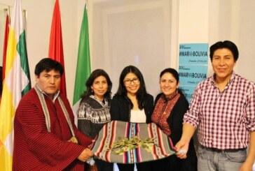 Milán: Autorides bolivianas celebran el Día del Acullico en un acto multiétnico