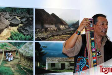 Mostra indigeni colombiani in Piazza Navona a Roma
