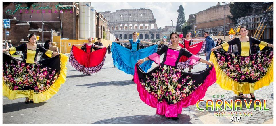 Ritmos Bolivianos invaden el monumental Coliseo Romano