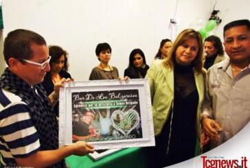 GENOVA: La comunidad balzareña rindió homenaje a Tomas Delgado