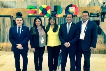 Viceministro Miranda participa en la inauguración de la Expo-Milán 2015, en Italia