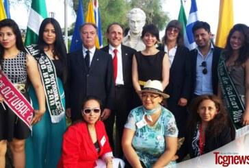 Ecuatorianos residentes en Genova celebraron la batalla de Pichincha