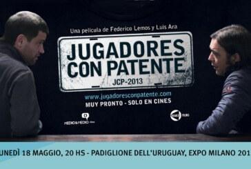 """Expo 2015: Al padiglione dell'Uruguay si proietterà il film """"Jugadores con Patente"""""""