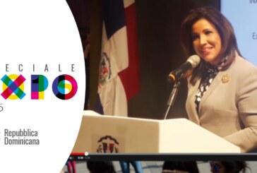 EXPO MILANO 2015: Inaugurazione del padiglione della Repubblica Dominicana