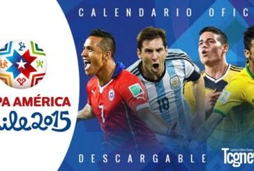Calendario Oficial de la Copa América Chile 2015