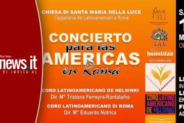 CONCIERTO PARA LAS AMERICAS EN ROMA EL 16 DE MAYO 2015